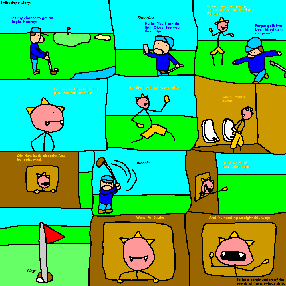 Just a Strip About a Strip About Golf