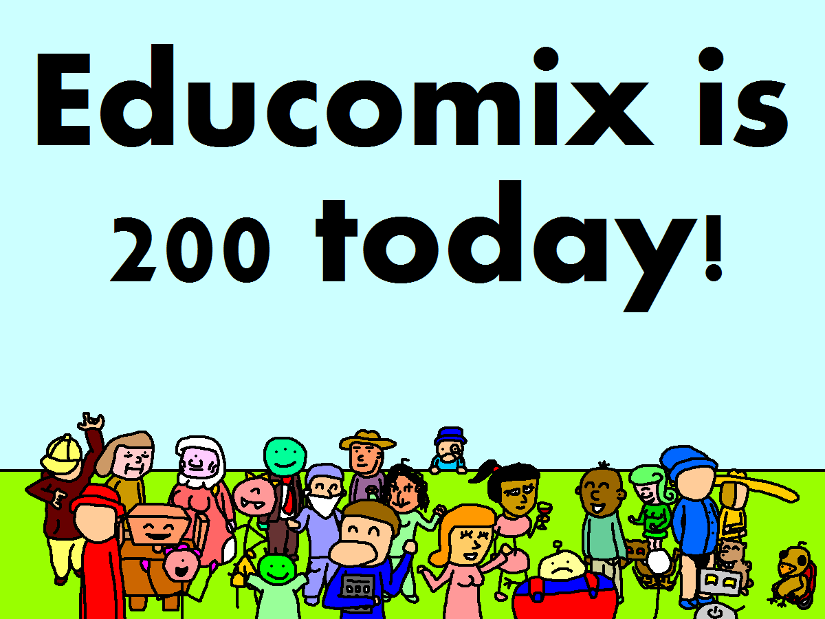 Let's Party Like It's a Webcomix!